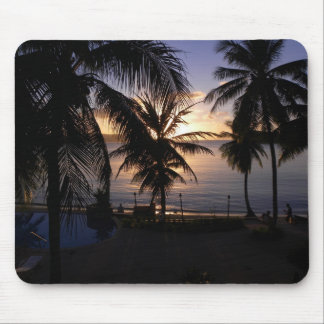 Guam Sunset Mouse Pad