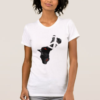 Guam Trendy Peace Sign with Guamanian map T-Shirt