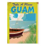 Guam Vintage Travel Poster Post Cards