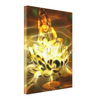 Guan Yin Energy Canvas Print