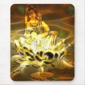 Guan Yin Energy Mouse Pad