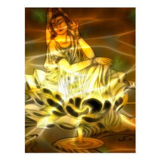 Guan Yin Energy Postcard