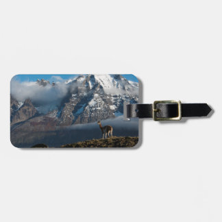 Guanaco in the Mountains | Chile Luggage Tag