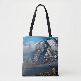 Guanaco in the Mountains | Chile Tote Bag