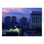 Guangzhou Stormclouds Greeting Card
