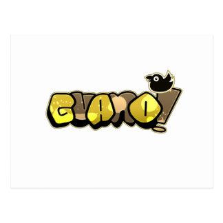 Guano Game Gear - Logo Postcard