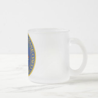 Guantanamo Bay, Cuba Frosted Glass Coffee Mug