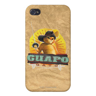 Guapo Gato Case For The iPhone 4