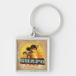 Guapo Gato Key Ring