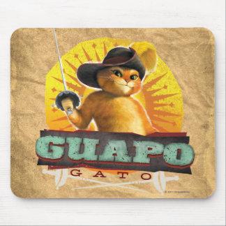 Guapo Gato Mouse Pad