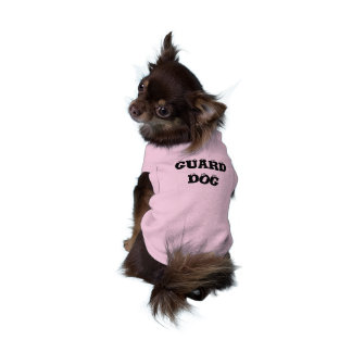 GUARD DOG SLEEVELESS DOG SHIRT