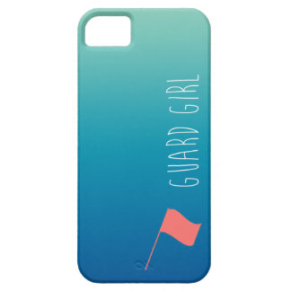 """Guard Girl"" with Flag Colorguard Barely There iPhone 5 Case"
