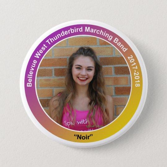 guard_KaitlynF_noir 7.5 Cm Round Badge