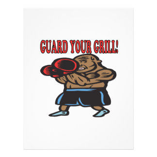 Guard Your Grill 3 Full Color Flyer