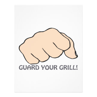 Guard Your Grill Full Color Flyer
