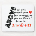Guard your HeArT!! Mouse Pads