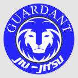 Guardant BJJ stickers