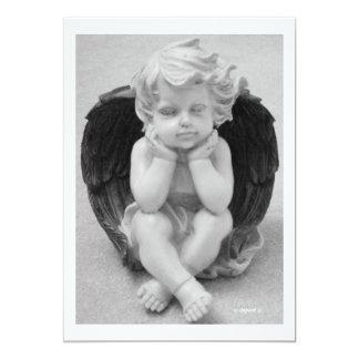 Guardian Angel 13 Cm X 18 Cm Invitation Card