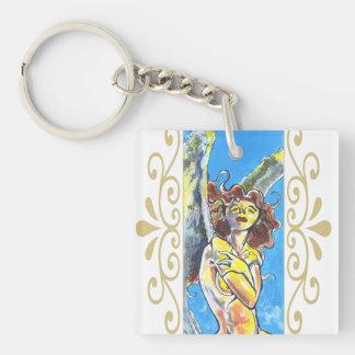 Guardian Angel Acrylic Keychain