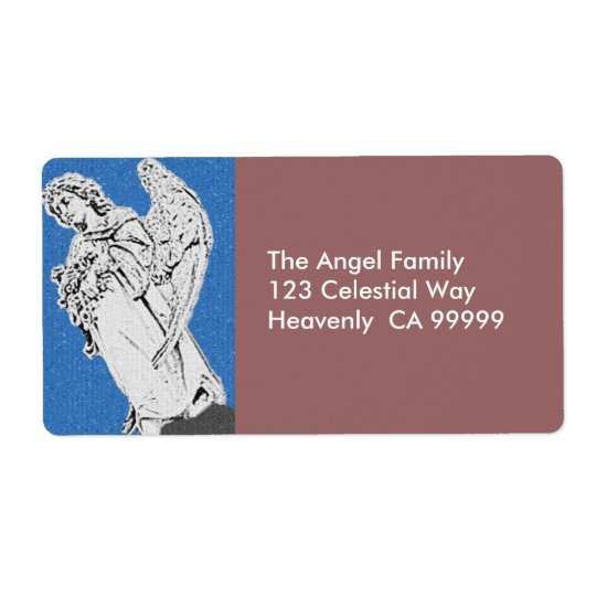 Guardian Angel Address Label