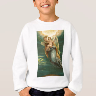 Guardian Angel And Baby Jesus Sweatshirt