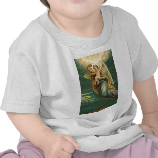 Guardian Angel And Baby Jesus T Shirt