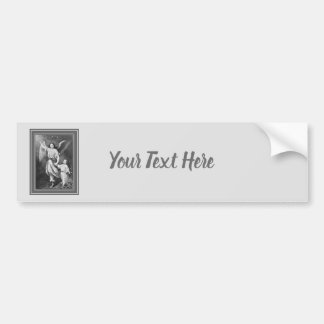 Guardian Angel And Child Bumper Sticker