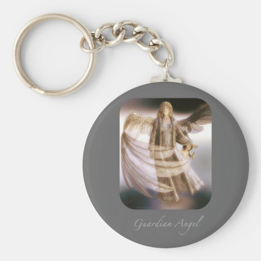 Guardian Angel and Child Keychains
