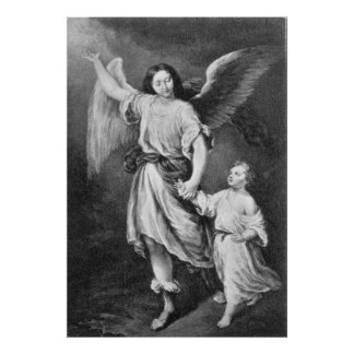 Guardian Angel And Child Poster