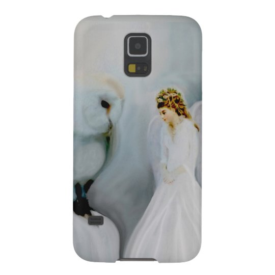 Guardian Angel and Owl Galaxy S5 Cover