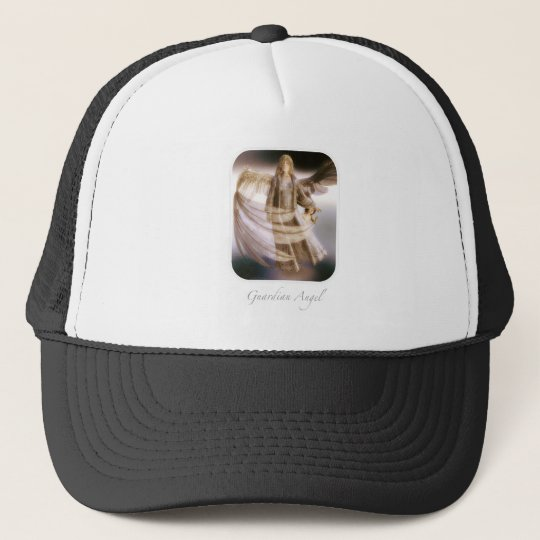 Guardian Angel and Trucker Hat