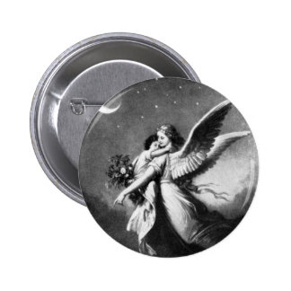 Guardian Angel At Night Button