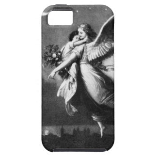 Guardian Angel At Night iPhone 5 Cases