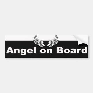 Guardian Angel Bumper Sticker