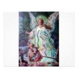 GUARDIAN ANGEL c. 1900 Announcement