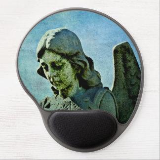 Guardian Angel Cemetery Art Gel Mouse Pad