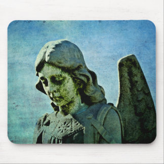 Guardian Angel Cemetery Art Mouse Pad