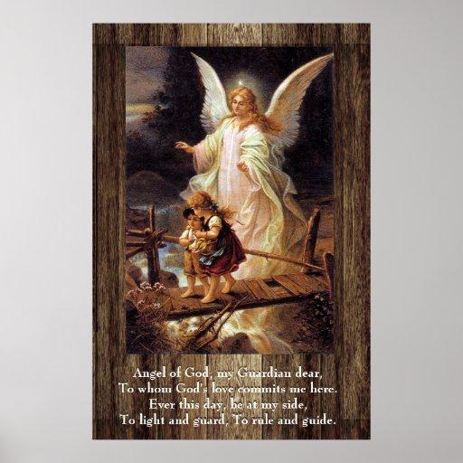 Guardian Angel, Children, Bridge Poster