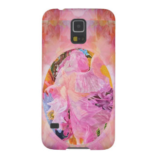 Guardian Angel Flowers Child Galaxy S5 Covers