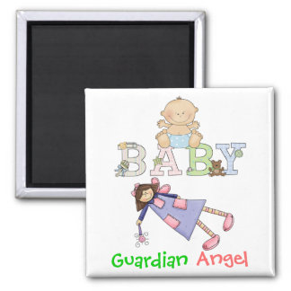 Guardian Angel for Baby by SRF Magnet