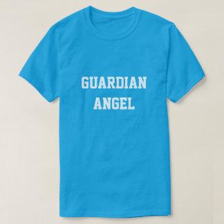 Guardian Angel, Funny Inspirational Teal Tee Shirt