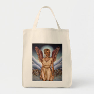 Guardian Angel Grocery Tote Grocery Tote Bag
