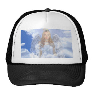 Guardian Angel in the Clouds Cap
