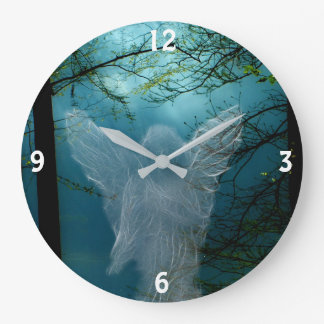 Guardian Angel Large Clock