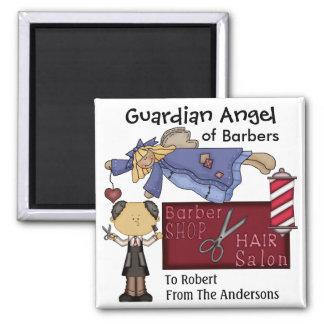Guardian Angel of Barbers by SRF Magnet