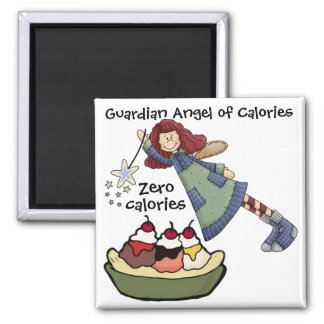 Guardian Angel of Calories by SRF Magnet