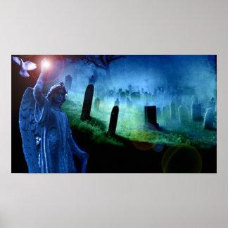 Guardian Angel of Departed Souls GraveYard Poster