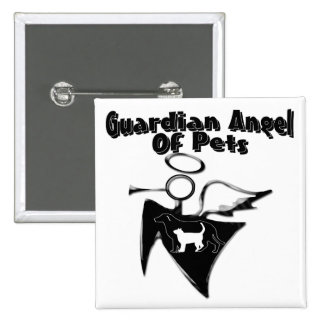 Guardian Angel Of Pets Button