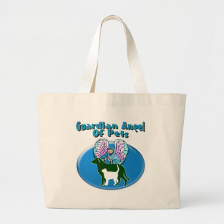 Guardian Angel Of Pets Canvas Bags