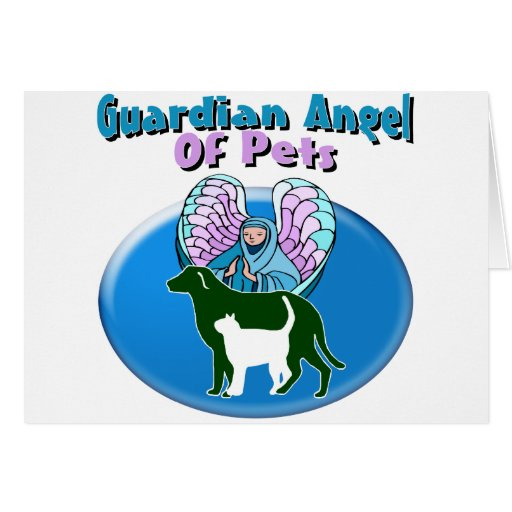 Guardian Angel Of Pets Cards